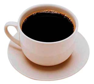 a cup of coffee A Cup