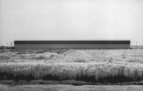 East Wall, Western Carpet Mills, 1231 Warner, Tustin from the series New Industrial Parks, 1974