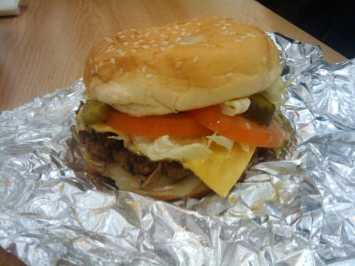 Five Guys: Dont forget the Cajun fries.
