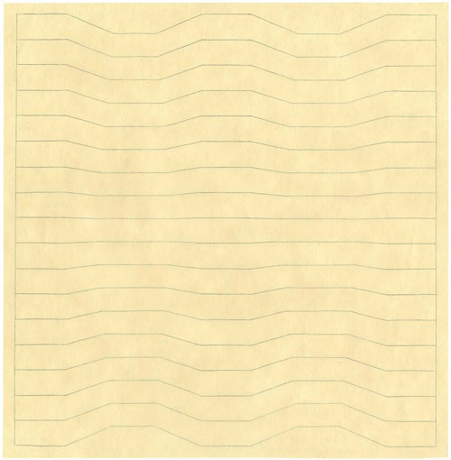 Turner, Untitled 576, pencil and color pencil on paper (2006)