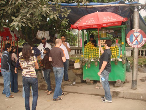 Street food in Calcutta, anyone?