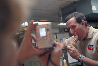 Santorum e il gelato