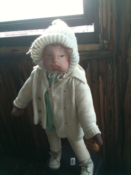This doll, apparently the leader.