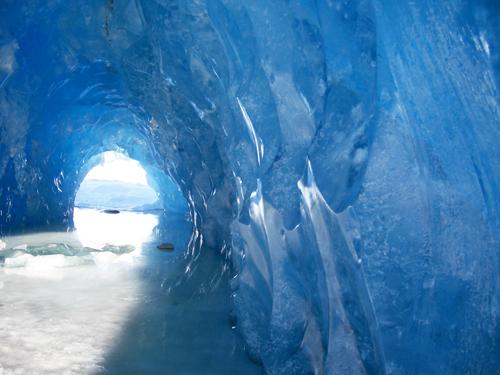 Mendenhall Ice Cave. Not Gyllenhaal.