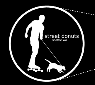 Street Donuts: Why wont my cat ever tow me on my skateboard?!