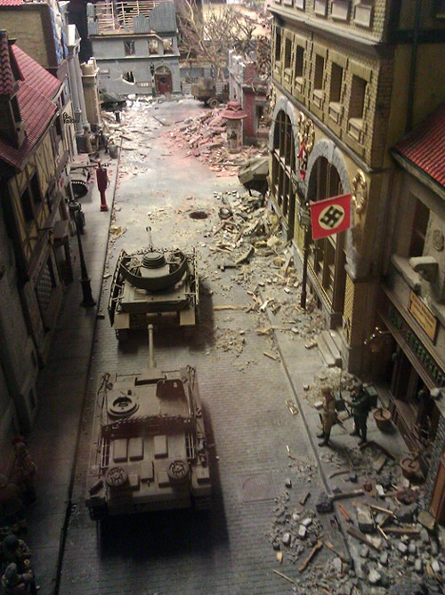 A tiny scene from World War II!