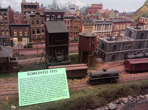A tiny and old Toronto!