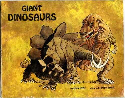This was the very first dinosaur book I remember owning. I made my mom read it to me over and over and over. I was three years old.