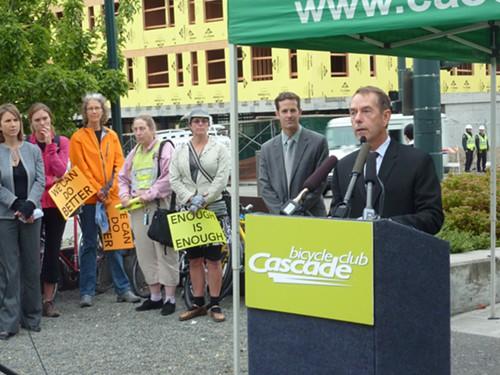 City Councilmember Tom Rasmussen