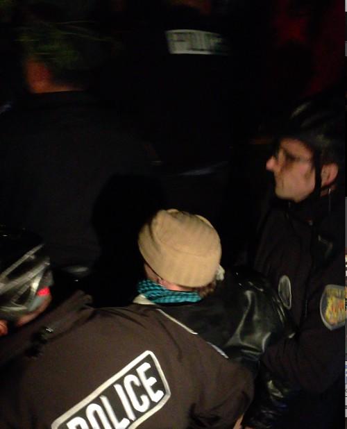 The arrest.
