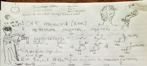 Notes from Stereochemistry - Lorem Facies Suffocant