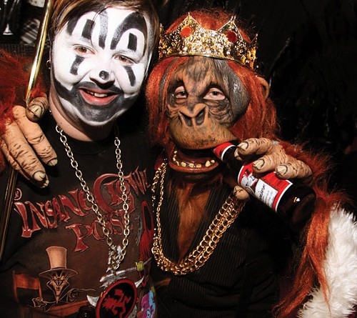 The Juggalo and the Orangutan. Are they the Drunk(s) of the Year?