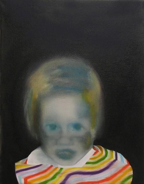 Marjorie Schwarz, Untitled (ROB3-10), 2010, oil on canvas