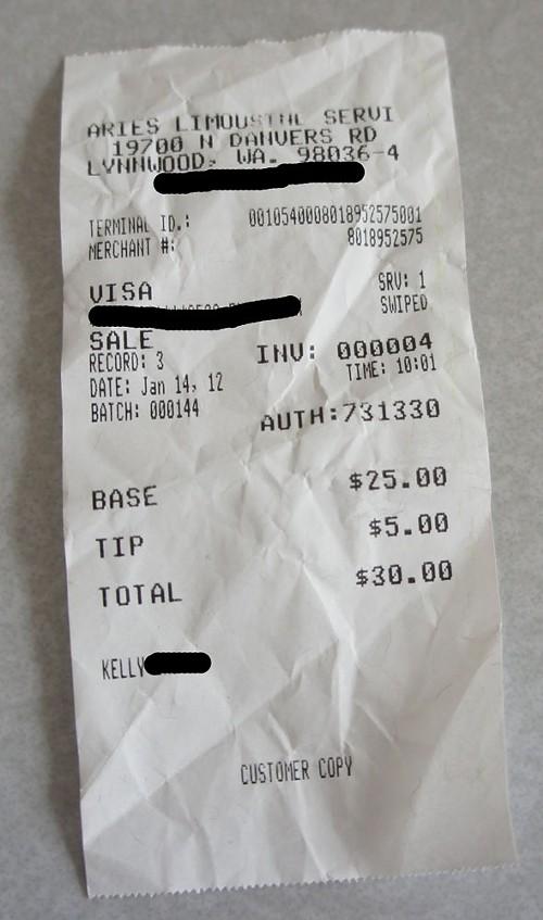 I always tip when Im drunk