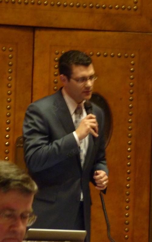 State Senator Joe Fain, R-47, offering his amendment.
