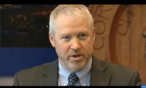 Mayor McGinn, declaring he will use emergency powers to stop the vandalism and violence.