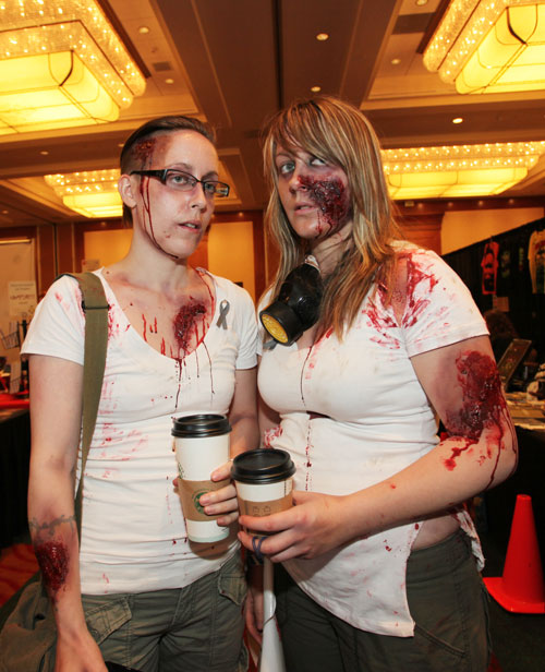These zombies love a Starbucks latte