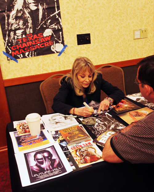 I wanted to ask Marilyn Burns to scream