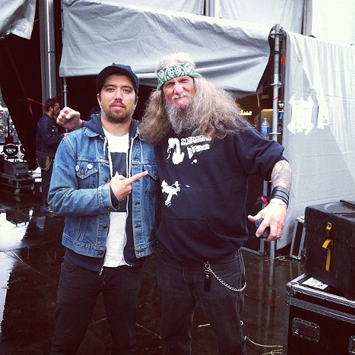 W/ Dave Chandler of Saint Vitus.