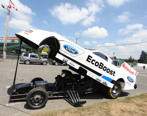 This funny car is no laughing matter