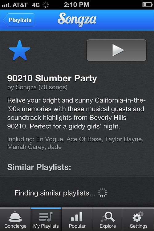 90210 Playlist!
