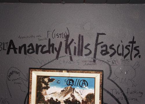 9. Anarchy Kills Fascists.
