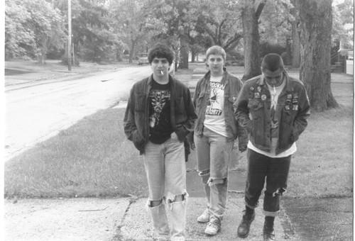 John Piche, Aaron Melnick, Pete Russ, 1986