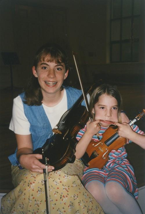 Shaine and Annie 1995