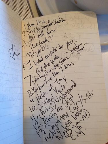 John Cale setlist
