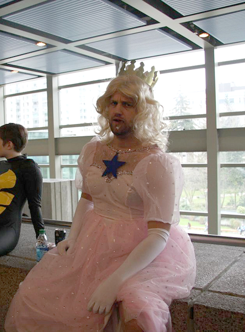 The prettiest princess at the con!