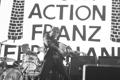 Franz Ferdinand: right action (to skip most of the xx for indie dance hits?)