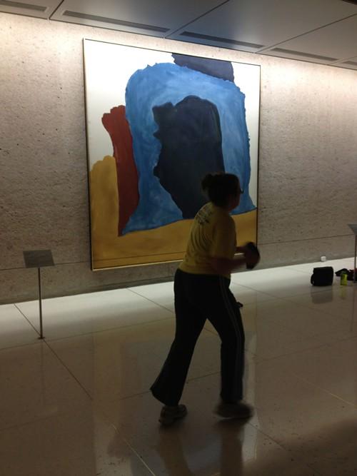 Flexing to Frankenthaler.