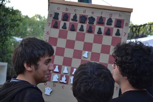 Pondering the next move, Taksim Gezi Park