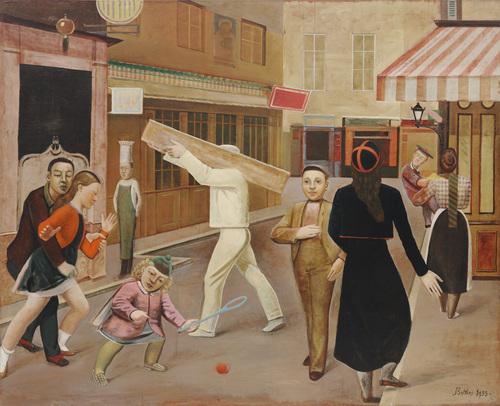 Balthus, The Street, 1933.