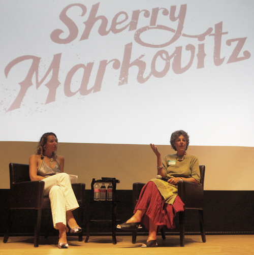 Sherry Markovitz: It could be scary or comfortable. Thats territory I find interesting.
