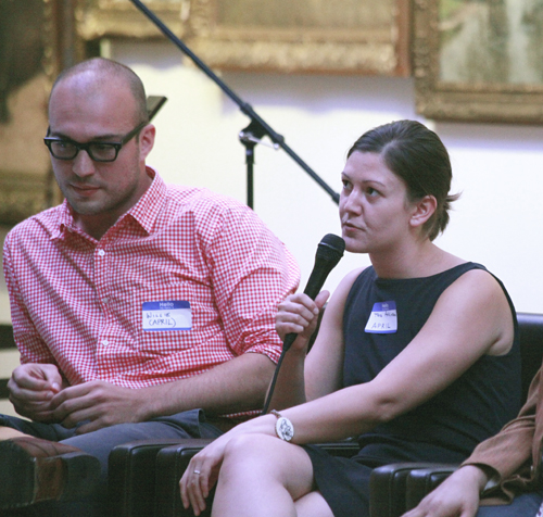 Willie Fitzgerald and Tara Atkinson, curators of the APRIL Festival, said, APRIL came organically out of Pilot Books, a bookstore that sold independent/small-press literature and was a hub of activity for young writers and readers.