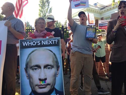 Nice stache, Putin.