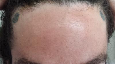 Joe - Two Pentagrams (on his damn forehead!)
