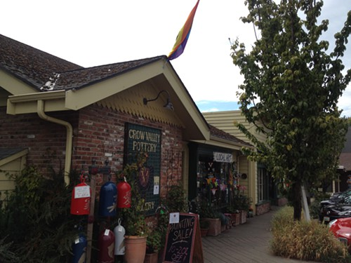 Crow Valley Pottery is right across the street from Brown Bear Baking. Its owners wrote a letter to the Sounder about the anonymous complaint.