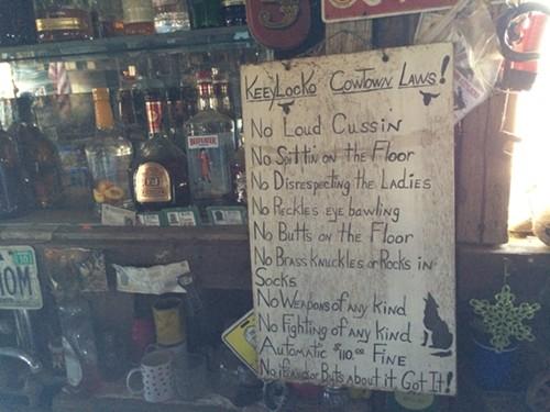The Keeylocko commandments.