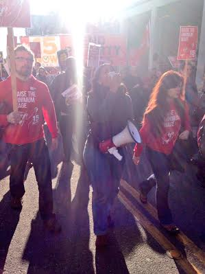 Seattles Socialist City Council member Kshama Sawant in an epic moment.