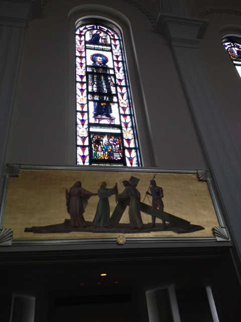 Station of the Cross VI: Veronica Wipes the Face of Jesus