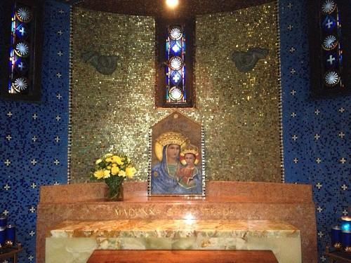 Altar to Mary Mosaic