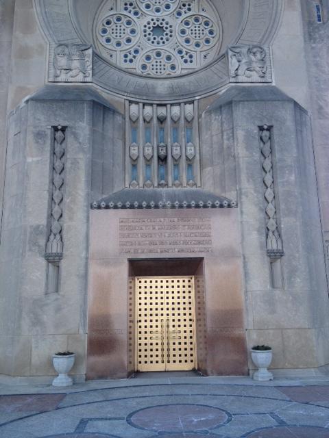 Front Entrance of Madonna Della Strada