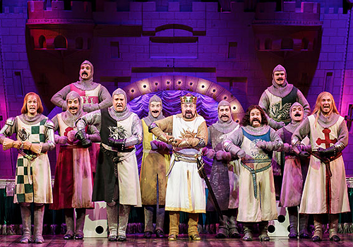 Spamalot at the 5th Avenue Theater: Self-parody and Broadway-parody.