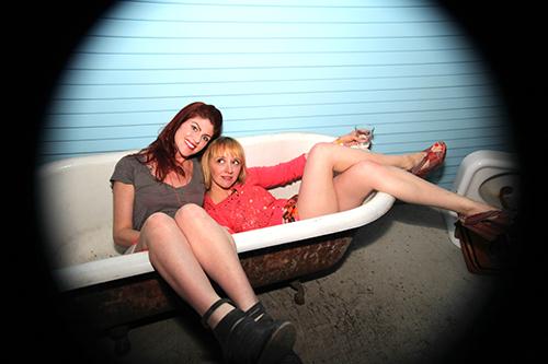 Random acts of bathtub relaxation