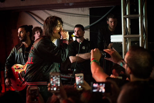 Julian Casablancas & the Schizos @ Cedar Street Courtyard