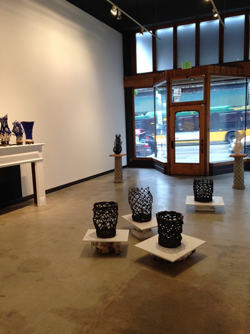 SPIDERY EARTHENWARE BASKETS  A look at Alwyn OBriens Astride the Bucket