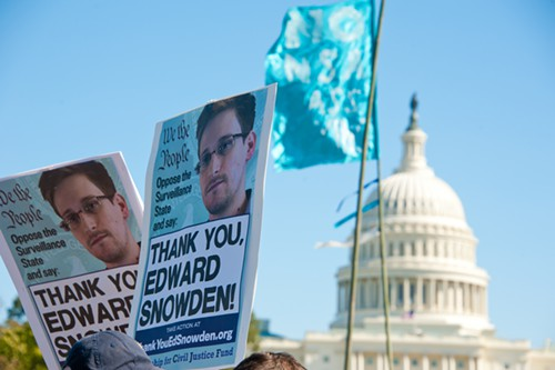 What the House of Representatives did last night would not have happened without Edward Snowden.