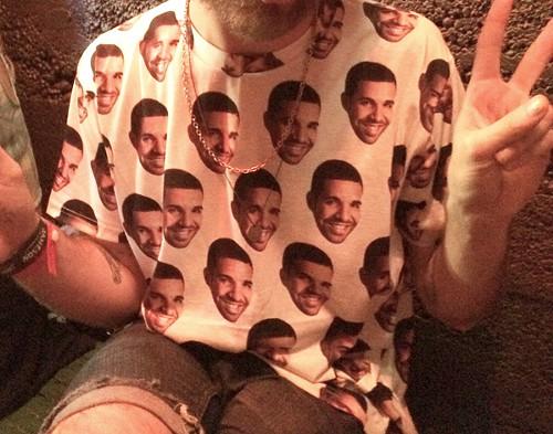Ask me about my Drake shirt.